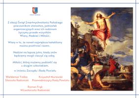 Życzenia Wielkanocne Starostwa Powiatowego w Radomiu