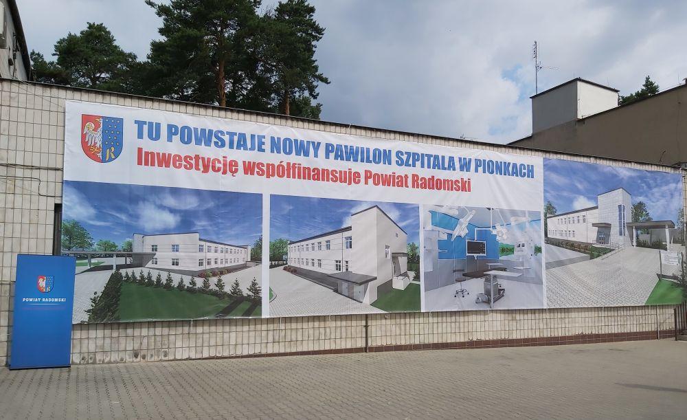 Nadanie imienia Lecha iMarii Kaczyńskich – Pary Prezydenckiej Szpitalowi wPionkach