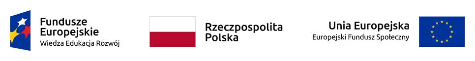 Loga funduszy Wiedza Edukacja Rozwój, Rzeczpospolita Polska, Europejski Fundusz Społęczny